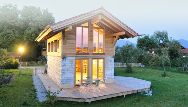 kleine-fertighäuser-schön - zwei etagen