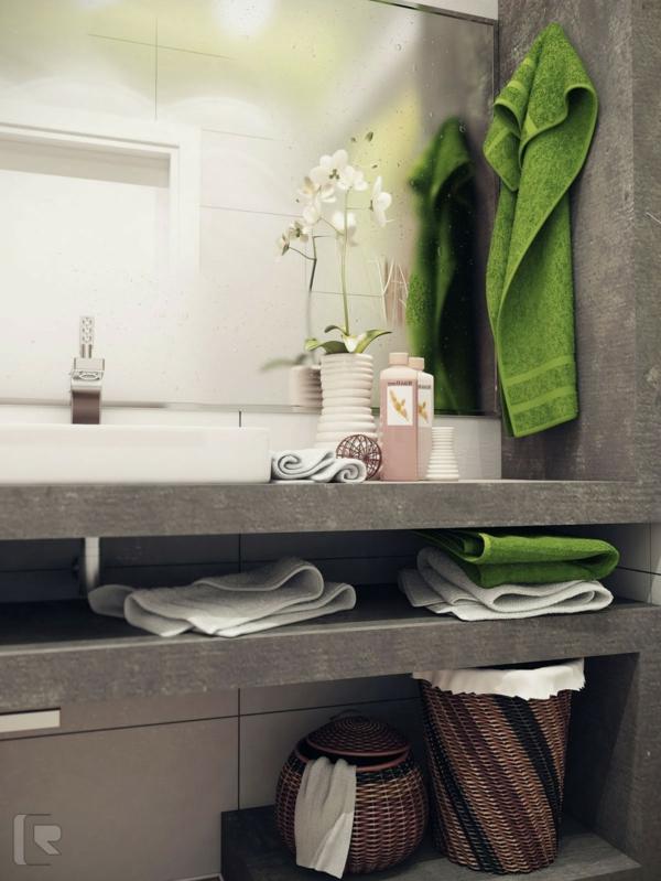 Kleines bad ideen 57 wundersch ne vorschl ge for Badezimmer klein idee