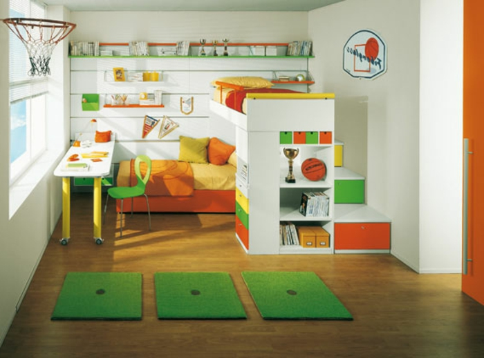 kinderzimmer ideen wandgestaltung jungs. Black Bedroom Furniture Sets. Home Design Ideas