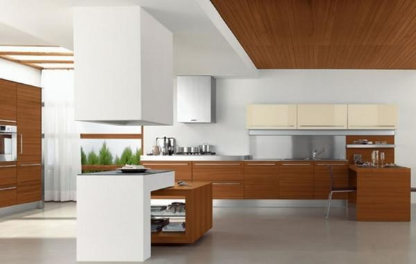 luxuriösische-küche-mit-modernen-küchenmöbeln - viel platz in der küche