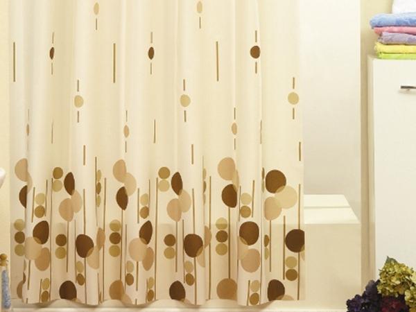 beige duschvorhänge - badezimmer modern ausstatten