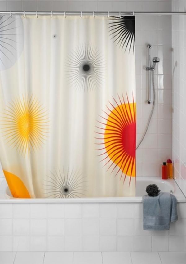 marimekko-online-shop-duschvorhänge - moderne badewanne