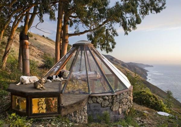 minihaus-preis-extravagante-gestaltung - wald und ocean