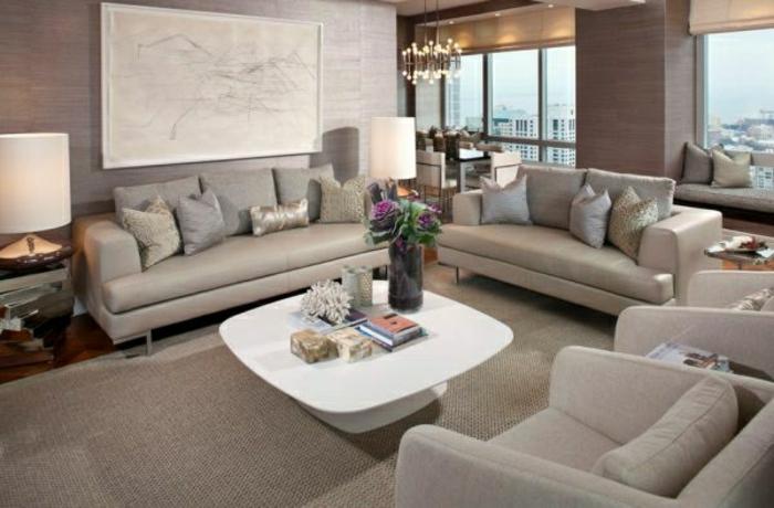 modernes-wohnzimmer-graue-farbtöne-tolle-wandfarben-mischen