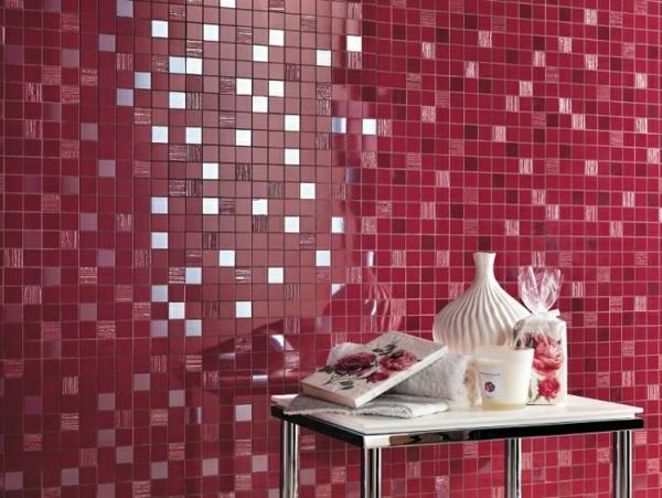 bad mit mosaikfliesen - 34 interessante ideen - archzine, Hause ideen