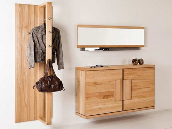 wandgarderobe selber bauen 26 kreative bastelideen. Black Bedroom Furniture Sets. Home Design Ideas