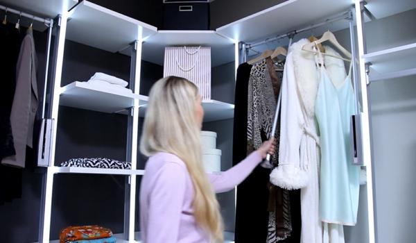 kleiderschrank systeme. Black Bedroom Furniture Sets. Home Design Ideas