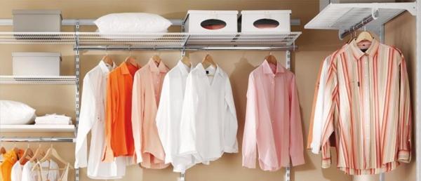 offene-kleiderschranksysteme-helle-kleider-hemden