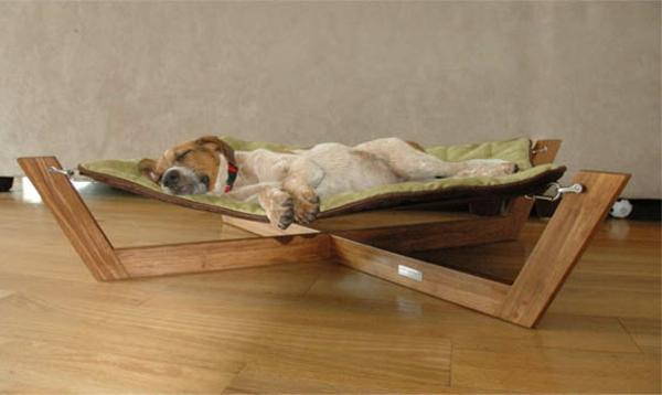 originelles-design-hundebett-orthopädisch - modernes modell