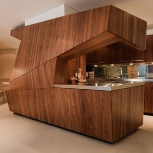 küchenzeile design holz | dockarm.com - Küchenmöbel Aus Holz