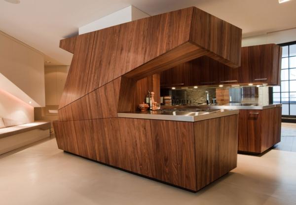 originelles-design-von-küche-holz - möbelstücke, die einmalig sind