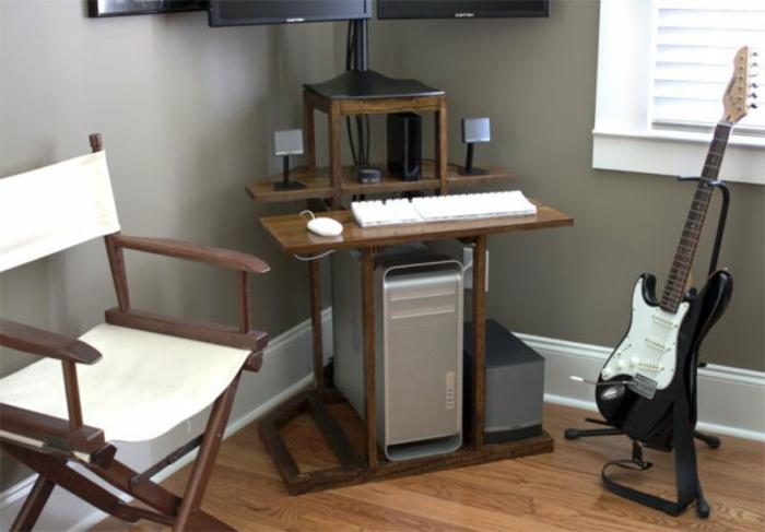 Extrem Schreibtisch selber bauen -106 originelle Vorschläge! - Archzine.net RK62
