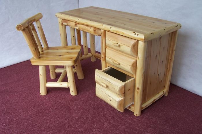 Schreibtisch selber bauen -106 originelle Vorschläge!