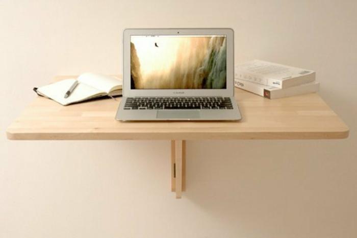 Platzsparende Schreibtische Interessante Diy Ideen Moderne Gestaltung Schreibtisch  Selber Bauen ...