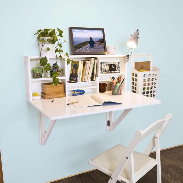 Schreibtisch selber bauen 106 originelle vorschl ge for 3d zimmergestaltung