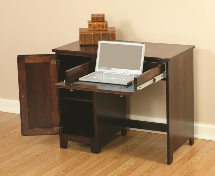 Platzsparende Schreibtische Selber Bauen Moderne Schreibtischplatte