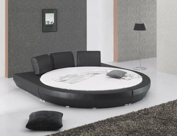 rundes-wasserbett-modern - kreatives design