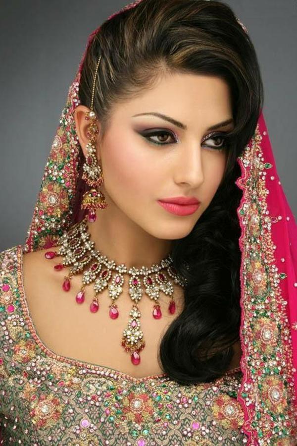 Arabische Hochzeitsfrisuren - genießen Sie die Schönheit!