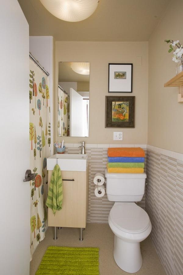 schöner-wohnen-badezimmer - bilder an der wand