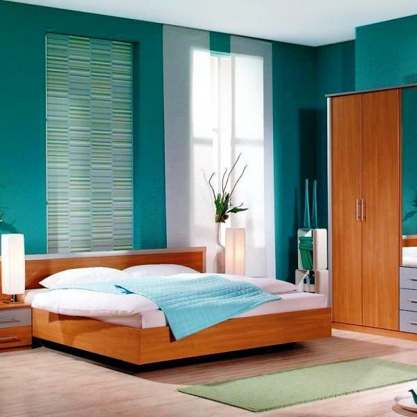 schöner-wohnen-trendfarben-türkis-wände- gemütlich