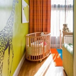 Rundes Babybett für ein gemütliches Babyzimmer