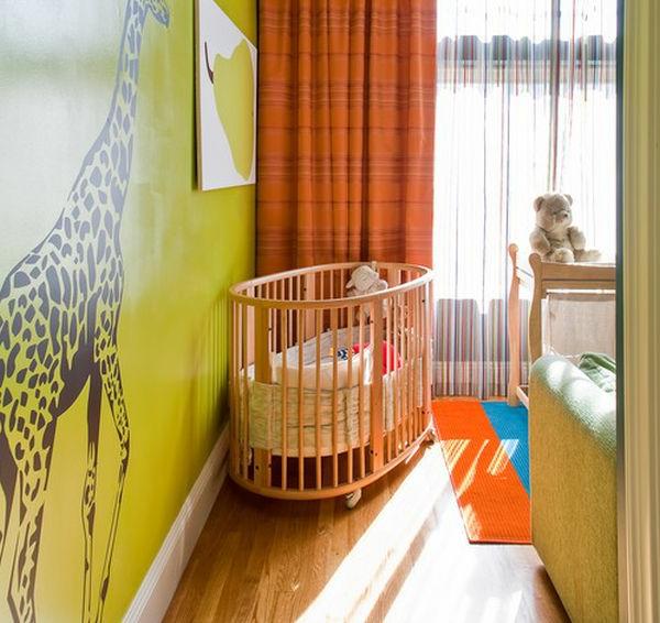 schönes-babyzimmer-kinderbett-komplettset - schöne wandgestaltung