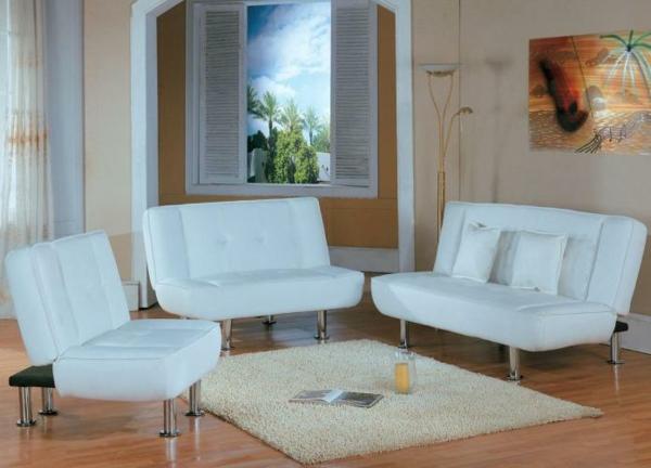 schlafsofa-billig-kaufen-weiße-farbe-drei-möbelstücke-ikea - kreatives gemälde