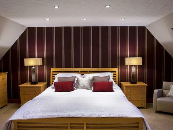 schlafzimmer farbideen moderne gestaltung decken beleuchtung - Schlafzimmer Farb Ideen