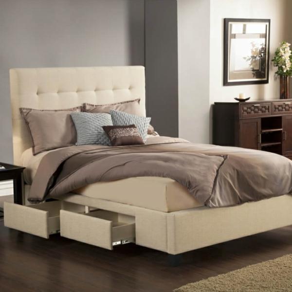 de.pumpink.com | schlafzimmer gestalten vorher nachher - Schlafzimmer Beige Rot