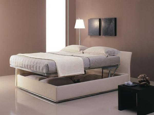 Schöne schlafzimmer farben  Polsterbett mit Bettkasten - eine geniale Idee für Ihr Schlafzimmer ...