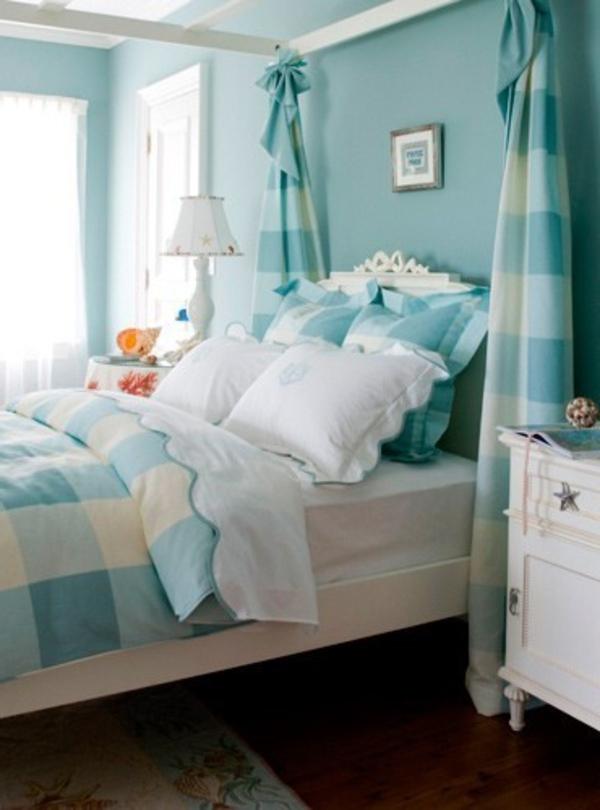 Wandfarbe Lagune - 30 kreative Beispiele - Archzine.net