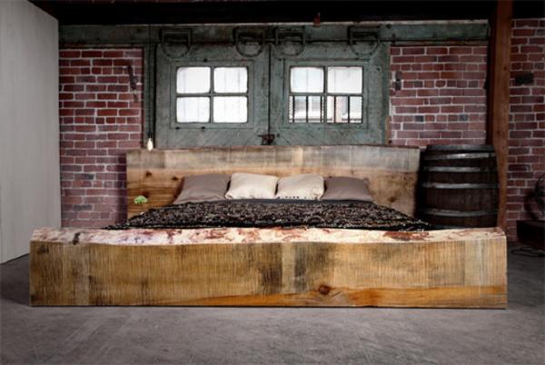 Schlafzimmer wände farblich gestalten  Schlafzimmerwand gestalten - 40 wunderschöne Vorschläge ...