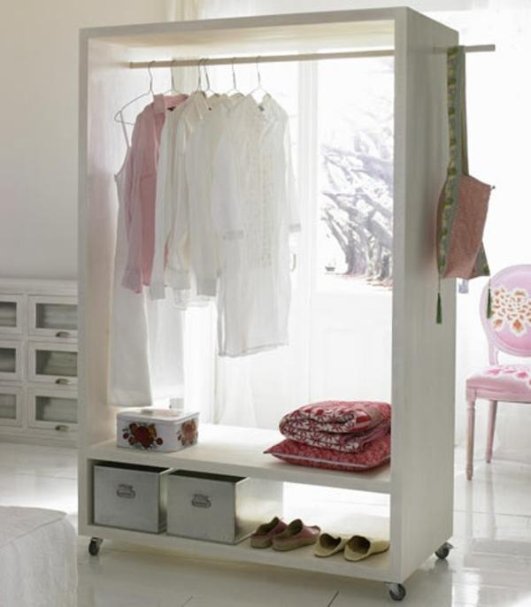 offene kleiderschranksysteme 30 wundersch ne ideen. Black Bedroom Furniture Sets. Home Design Ideas