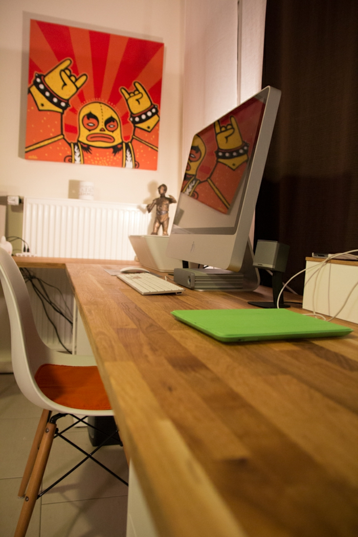 schreibtisch selber bauen 106 originelle vorschl ge. Black Bedroom Furniture Sets. Home Design Ideas