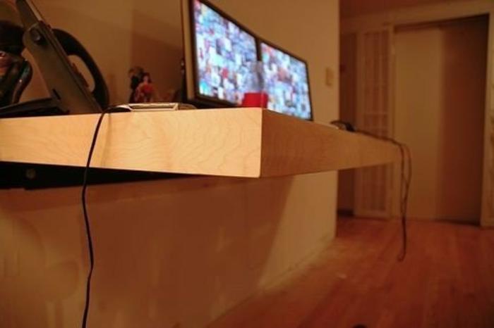 Schreibtischplette Arbeitsplatte Kreative Diy Ideen Schreibtisch Selber  Bauen ...