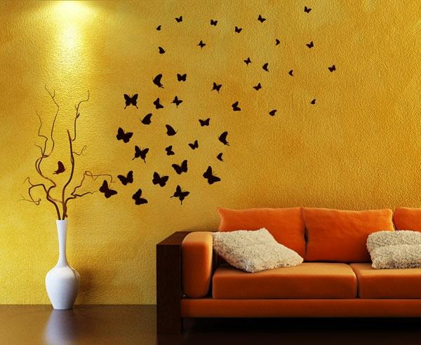 design : wohnzimmer gestalten orange ~ inspirierende bilder von ...
