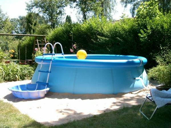 garten pool selber bauen - eine verblüffende idee! - archzine, Best garten ideen