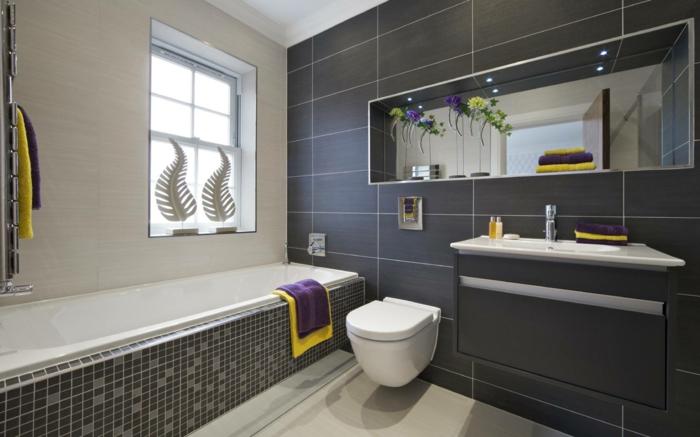 Mehr als 150 unikale wandfarbe grau ideen for Small bathroom design 2014