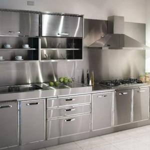 Edelstahl Küche - 58 elegante Beispiele