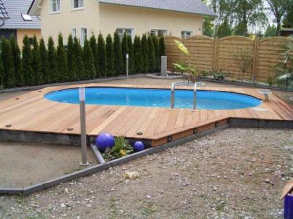 garten pool selber bauen eine verbl ffende idee. Black Bedroom Furniture Sets. Home Design Ideas