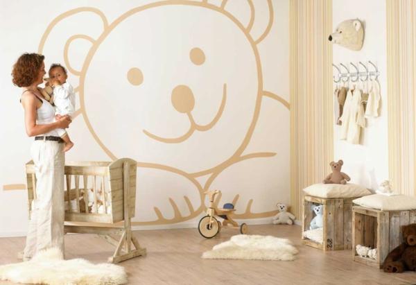 Babyzimmer junge tapete  Babyzimmer Tapeten - 27 kreative und originelle Ideen - Archzine.net