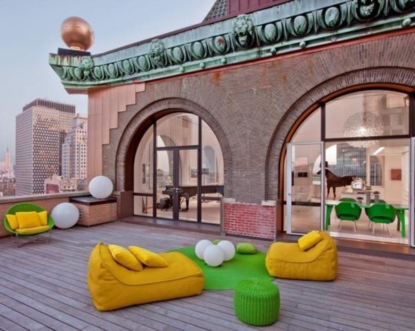 terrassenbelag-viele-moderne-möbel - aristokratische gestaltung