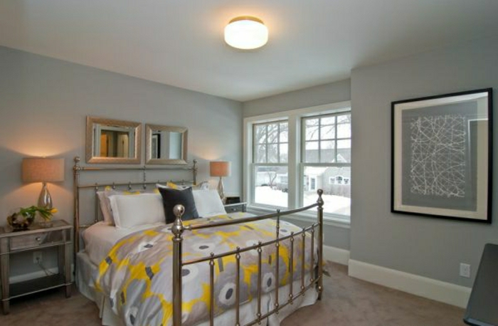 unikale-gestaltung-wandfarbe-schlafzimmer