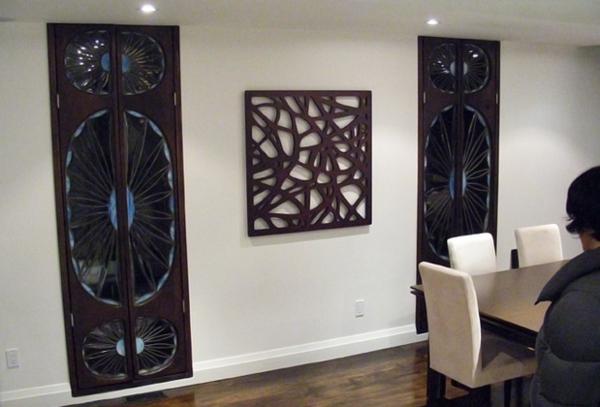 Wanddeko wohnzimmer holz raum und m beldesign inspiration for Wanddeko wohnzimmer