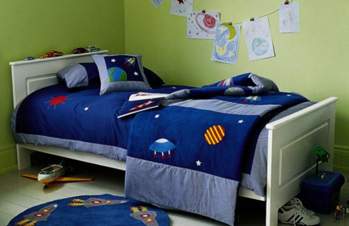 wanddeko-für-kinderzimmer-originelles-jungenzimmer
