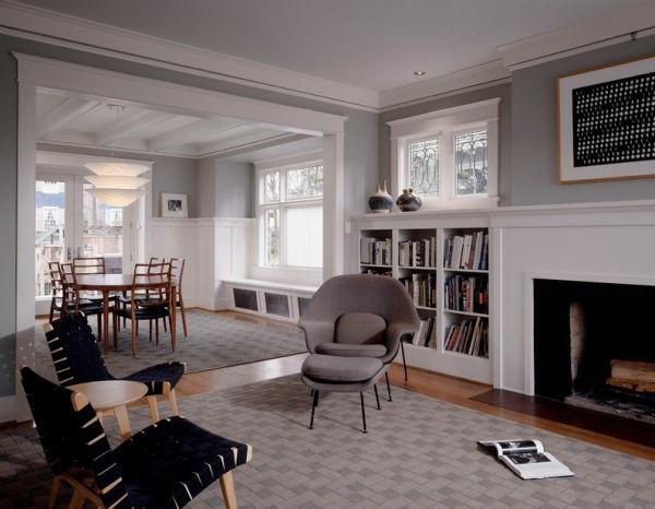 wohnzimmer wandfarbe grau raum und m beldesign inspiration. Black Bedroom Furniture Sets. Home Design Ideas