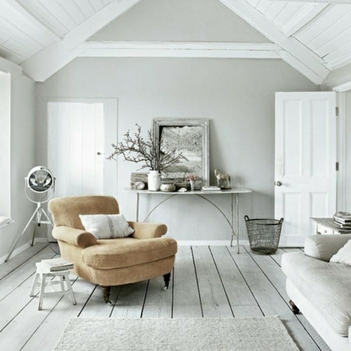 wandfarbe-grau-wohnzimmer-modern-gestalten