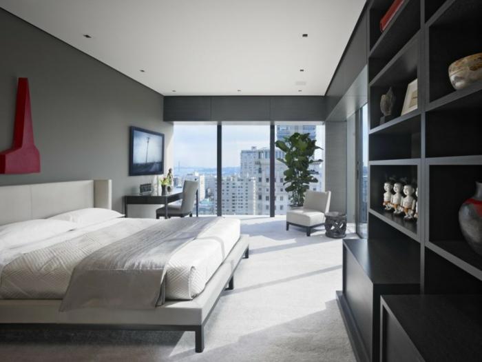 Schlafzimmer Altrosa Streichen : hellgraue wandfarbe im schlafzimmer ...