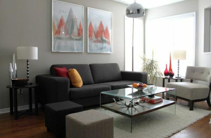 wandfarbe-hellgrau-im-modernen-wohnzimmer