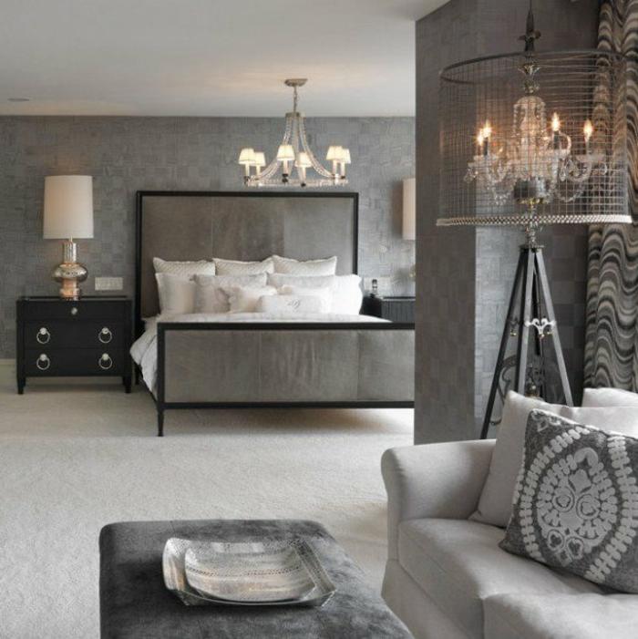 Wandfarben Ideen Wohnzimmer Grau : Mehr als unikale wandfarbe grau ideen